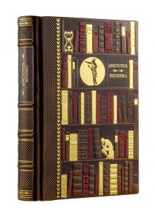 Риторика. Коллекционное издание кожаном переплете ручной работы с многоцветным и золотым тиснением