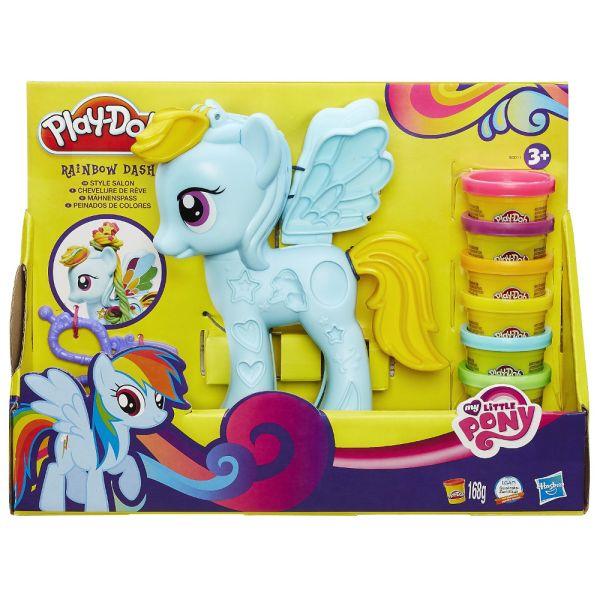 """Play-Doh Игровой набор """"Стильный салон Рэйнбоу Дэш"""" (B0011)"""