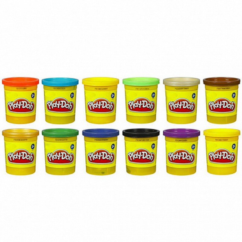 Play-Doh Пластилин: 1 Баночка (в ассорт.) (B6754)