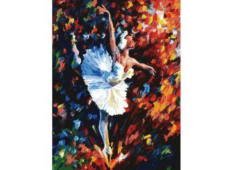 Живопись на картоне 30*40 Танец души (3031-CS)