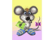 - Живопись на холсте 30*40 см Ученый мышонок (045-AS) обложка книги