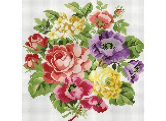 Мозаика на подрамнике Вальс цветов (062-ST-S)