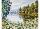 Мозаика на подрамнике В ромашковом краю (253-ST-S)