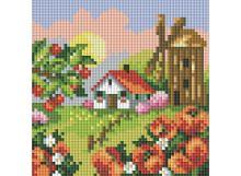 - Мозаика на подрамнике  Домик с мельницей (099-ST-S) обложка книги