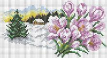 - Мозаика на подрамнике  В ожидании весны (102-ST-S) обложка книги