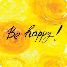 - Be happy! обложка книги