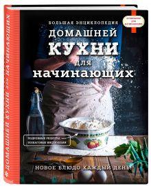- Большая энциклопедия домашней кухни для начинающих обложка книги