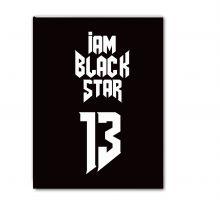 - Тетрадь Black Star 13 (48 л., клетка) обложка книги