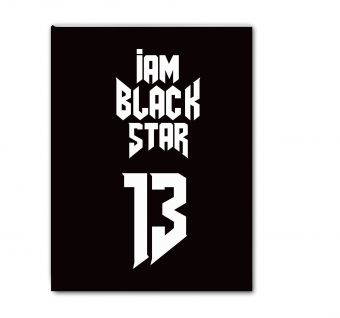 Тетрадь Black Star 13 (48 л., клетка)
