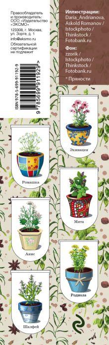Обложка сзади Магнитные закладки. Kitchen herbs. Пряности (6 закладок полукругл.)
