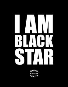 Школьная тетрадь I am Black Star. Member of Black Star Family (48 л., клетка)