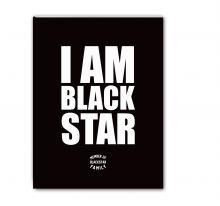 - Тетрадь I am Black Star. Member of Black Star Family (48 л., клетка) обложка книги