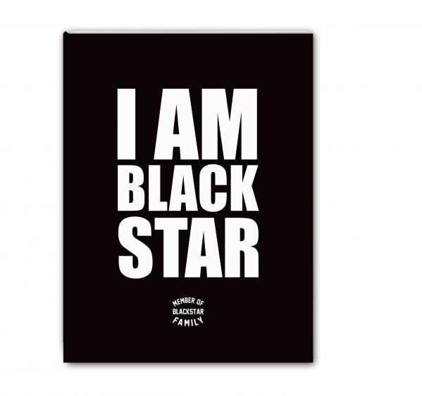 Тетрадь I am Black Star. Member of Black Star Family (48 л., клетка)