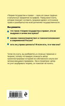 Обложка сзади Теория государства и права для чайников Усольцев Д.