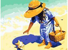 - Живопись на холсте 30*40 см. Морские находки (171-AS) обложка книги