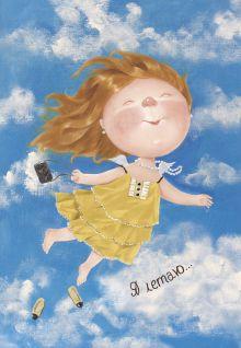 Обложка Блокнот-ежедневник. Я летаю (недатированный) (Арте) Евгения Гапчинская