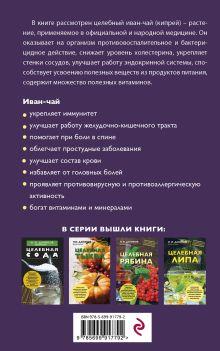 Обложка сзади Целебный иван-чай Н. И. Даников