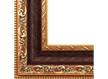 - Багетные рамы 40*50. Molly (коричневый+золотой) (2232-BB) обложка книги