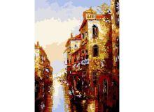 - Живопись на холсте 30*40 см. Канал в Венеции (158-AS) обложка книги