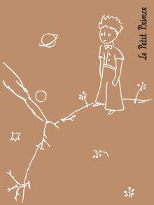 Сент-Экзюпери А. - Маленький принц. Ретро-блокнот 2 обложка книги