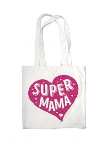 - Сумка #дарилюбовь. Супер(SUPER) мама (сердце) обложка книги