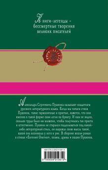 Обложка сзади Евгений Онегин Александр Пушкин