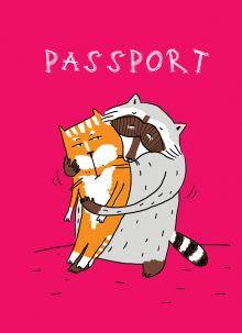 - Енот и обнимашки (обложка на паспорт) обложка книги