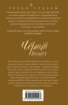 Обложка сзади Черный котел Татьяна Форш