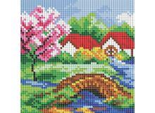 Мозаичные картины . Весенний день (126-ST-РS )