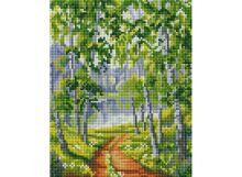 Мозаичные картины . Из рощи (001-ST-PS)
