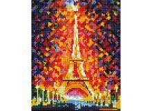 Мозаичные картины . Париж - огни Эйфелевой башни (002-ST-PS)