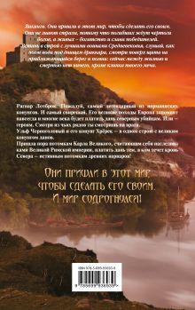Обложка сзади Викинг. Кровь Севера Александр Мазин
