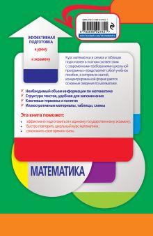 Обложка сзади Математика в схемах и таблицах А. Н. Роганин, И. В. Лысикова