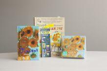 - Подарочный набор Ван Гог обложка книги