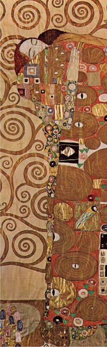 Обложка Закладка с резинкой. Густав Климт. Объятия