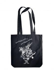 Читай-сумка. Кролик. Алиса в стране чудес (размер 38х43 см, длина ручек 62 см, пакет с европодвесом)