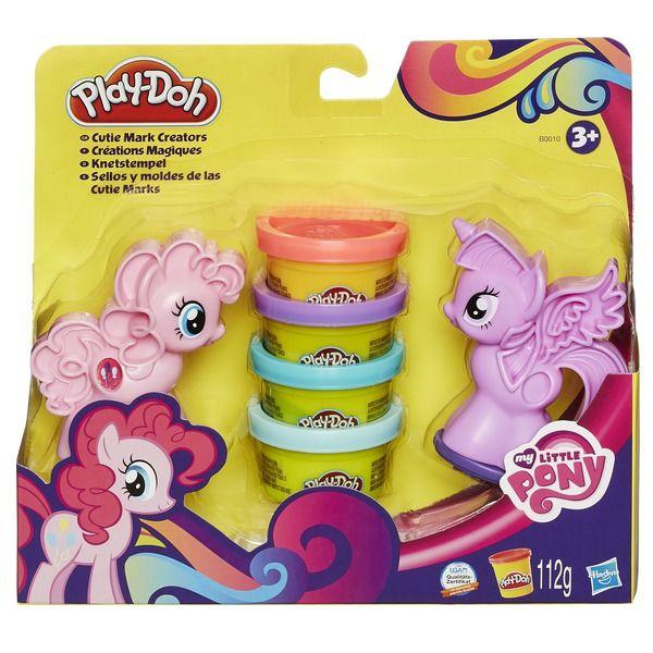 """Play-Doh Игровой набор """"Пони: Знаки Отличия"""" (B0010) PLAY-DOH"""