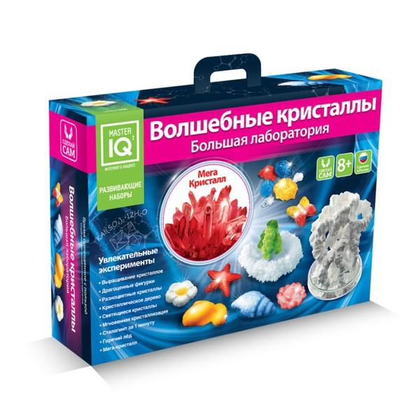 Волшебные кристаллы. Большая лаборатория от book24.ru