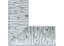 Багетные рамы 30*40. Nikki (серебряный) (1175-BL)