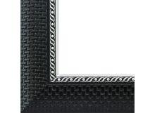 Багетные рамы 40*50. Regina (черный+серебрянный) (2338-BB)