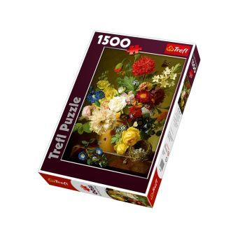 1500 дет.- Натюрморт с цветами