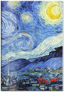 Обложка для паспорта. Ван Гог. Звёздная ночь (Арте)