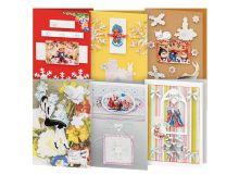 - Наборы для скрапбукинга. Набор для создания 6-ти открыток Снежинки (245-SB) обложка книги