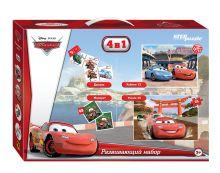 - Развивающий набор 4в1 Тачки (Disney) обложка книги