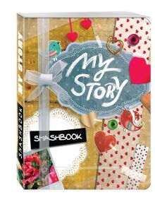 - My story (c наклейками) обложка книги