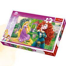 Trefl - Пазл 100 дет. Веселые принцессы обложка книги