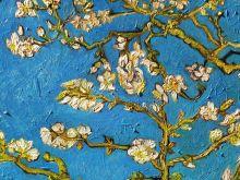 Кардхолдер. Ван Гог. Цветущие ветки миндаля (Арте)