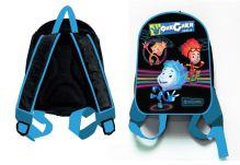 - Рюкзак Фиксики-мальчики, 1 отделение, внутри карман на молнии и карман-сетка, мягкие наплечники, для дошкольников,размер 30*25*10 см обложка книги