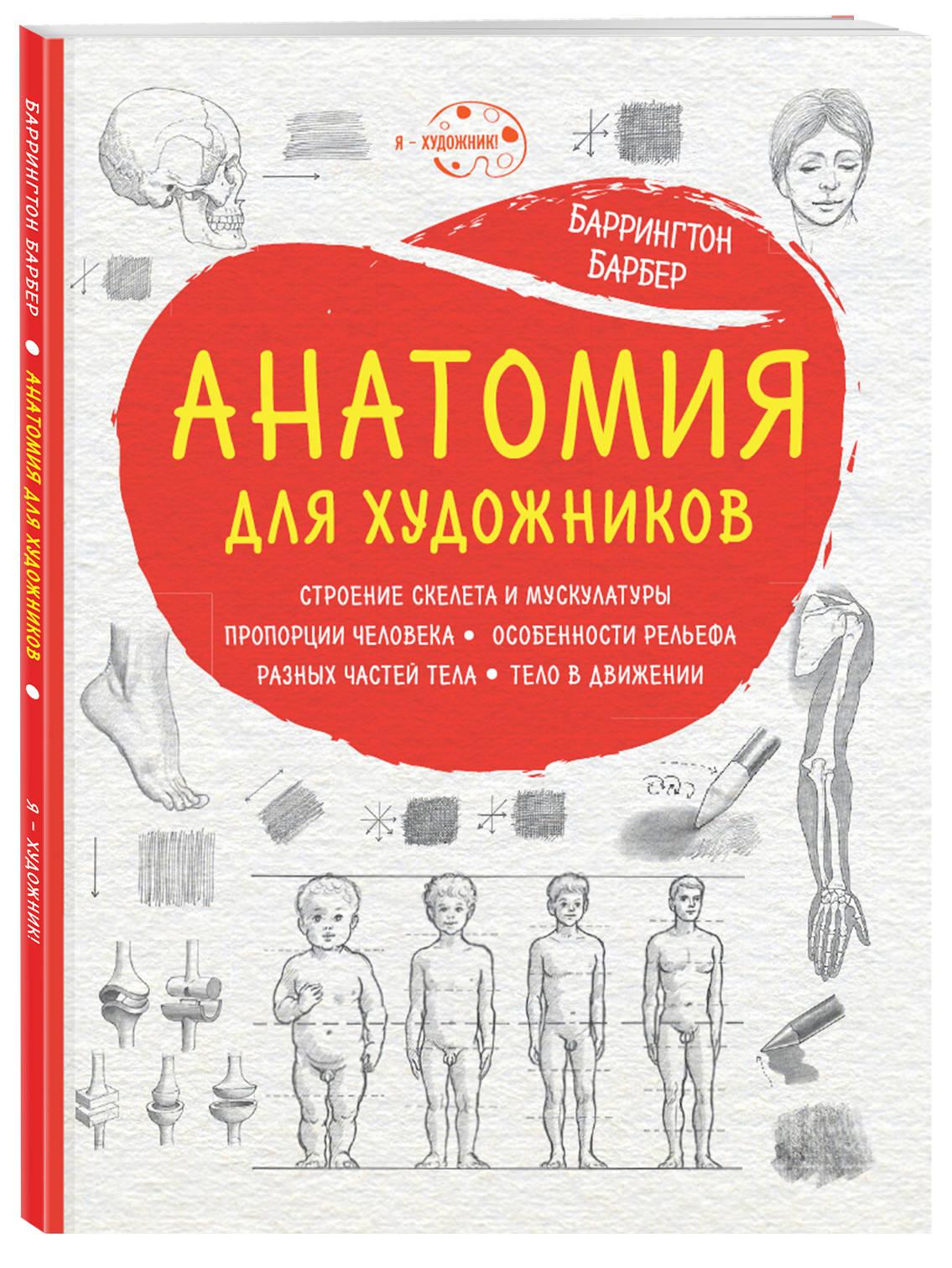 Анатомия для художников (нов. оф.) ( Барбер Баррингтон  )