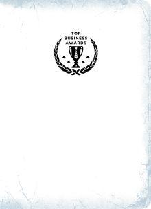 Блокнот Top Business Awards - нелинованный (белое серебро, желтые страницы)